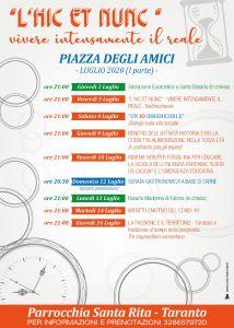 calendario luglio 1 parte